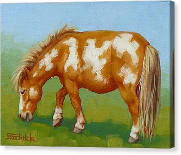 Canvas Print featuring the painting Mini Paint Mini Painting by Margaret Stockdale