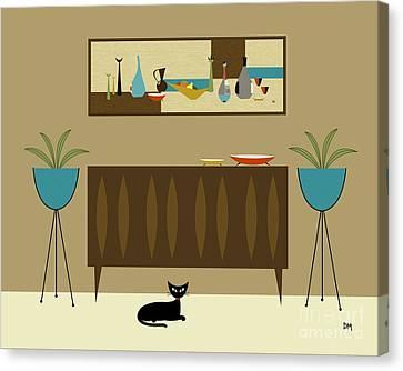 Mini Still Life Canvas Print by Donna Mibus