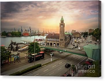 Miniature Hamburg Canvas Print by Daniel Heine