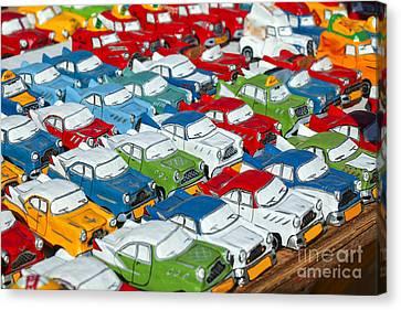 Miniature Oldsmobiles Canvas Print by Patricia Hofmeester