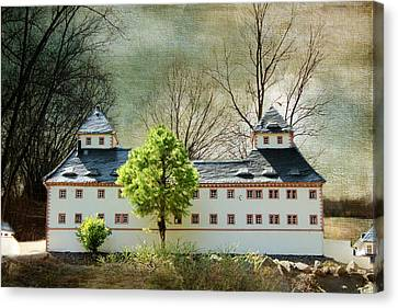 Miniatures Augustusburg Canvas Print by Heike Hultsch