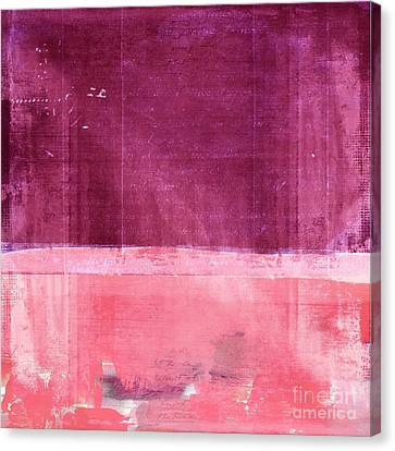 Minima - S02b Pink Canvas Print by Variance Collections