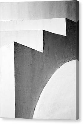Minimal Stairs Canvas Print by Stelios Kleanthous