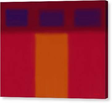 Minimalist In Thirds Canvas Print by Tim Stringer