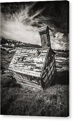 Old School Houses Canvas Print - Quartz Mountain 4 by Yo Pedro