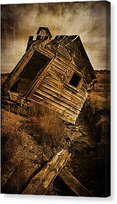 Old School Houses Canvas Print - Quartz Mountain 8 by YoPedro