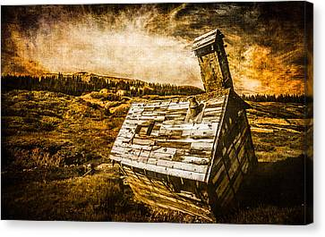 Old School Houses Canvas Print - Quartz Mountain 2 by YoPedro