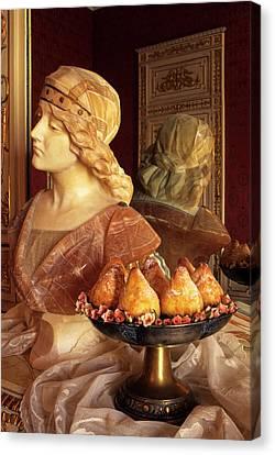 Minne Di Vergine, Virgin Tits Cakes Canvas Print by Nico Tondini