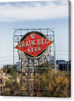 Minneapolis Brew Canvas Print