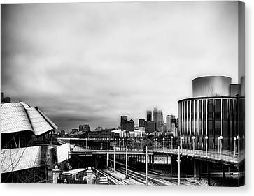 Minneapolis From The University Of Minnesota Canvas Print