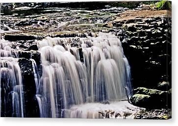 Minneopa Falls Upper Canvas Print by Mark Russell