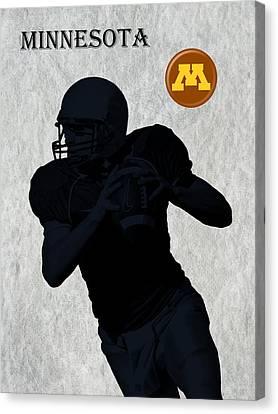 Minnesota Football Canvas Print by David Dehner