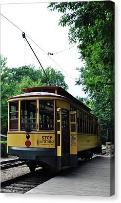 Minnesota Streetcar Museum Canvas Print