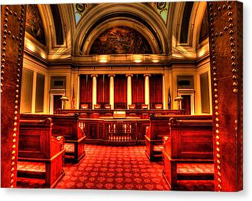 Minnesota Supreme Court Canvas Print by Amanda Stadther