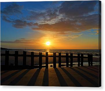 Minnis Bay Sunset Canvas Print