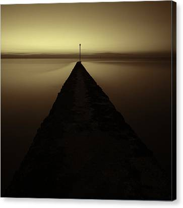 Minnis Bay Tranquility Canvas Print