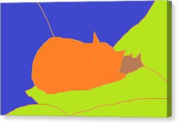Minnow Canvas Print by Anita Dale Livaditis
