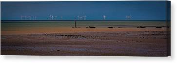 Minster Isle Of Sheppey Canvas Print by Dawn OConnor