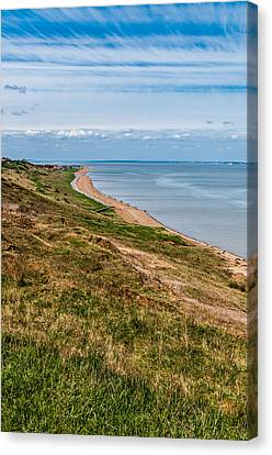 Minster Leas On The Isle Of Sheppey Canvas Print by Paul Donohoe