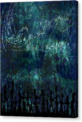 Canvas Print featuring the digital art Miracle  by Shabnam Nassir