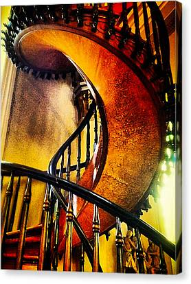 Miracle Staircase Canvas Print by Paul Cutright