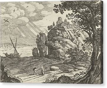 Miraculous Fishing, Willem Van Nieulandt II Canvas Print by Artokoloro