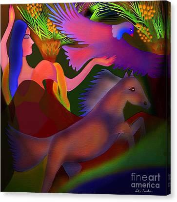 Mirage Canvas Print by Latha Gokuldas Panicker