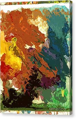 Mirage No 2 Canvas Print by David Lloyd Glover