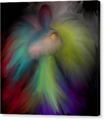 Miranda's Angel Canvas Print by Jessica Wright