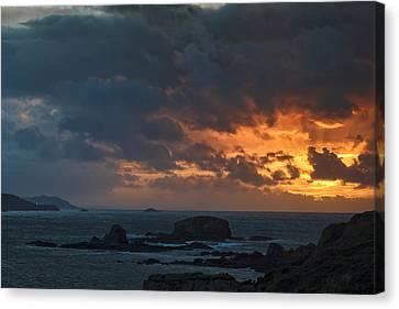Canvas Print featuring the photograph Mirandas Islands Galicia Spain by Pablo Avanzini