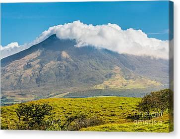 Miravalles Volcano Canvas Print by Christina Klausen