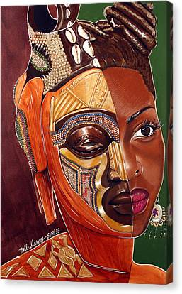Mirror Heritage Canvas Print