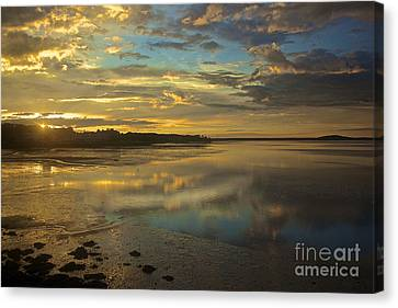 Mirror Image Canvas Print by Amazing Jules