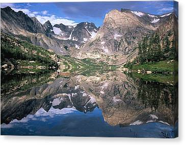 Mirror Image Canvas Print by Eric Glaser