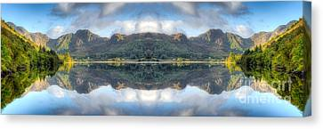 Mirror Lake Canvas Print by Adrian Evans