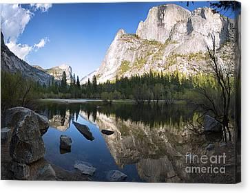 Mirror Lake Yosemite Canvas Print by Jane Rix