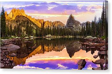 Mirror Lake Yosemite National Park Canvas Print by Bob and Nadine Johnston