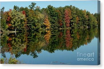 Mirror Mirror On The Wall Fall Is Fairest One Of All Canvas Print