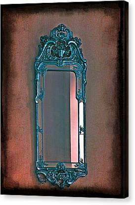 Mirror Mirror On The Wall... Canvas Print by Marianna Mills