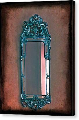 Goth Canvas Print - Mirror Mirror On The Wall... by Marianna Mills