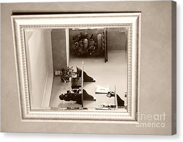 Mirror On The Wall  Canvas Print by Bobby Mandal