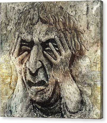 Misery Canvas Print by Suzette Broad