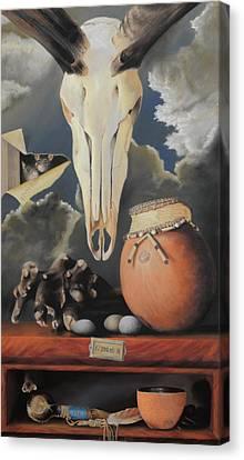 Curio - Pastel Canvas Print by Ben Kotyuk
