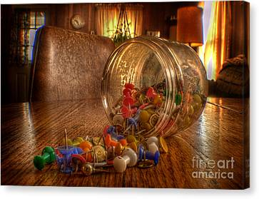 Mishap Of The Tic Tac Canvas Print by The Stone Age