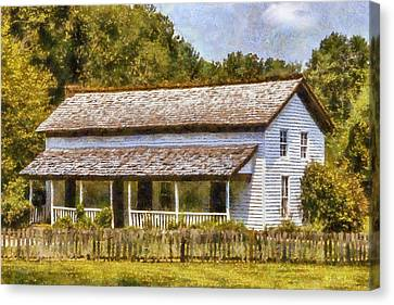 Miss Becky's House Canvas Print by Barry Jones