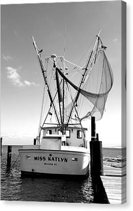 Miss Katlyn Canvas Print by Karen Rhodes