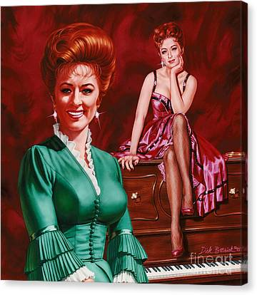 Miss Kitty Canvas Print by Dick Bobnick