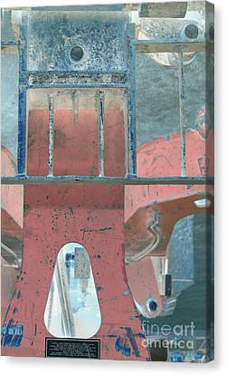 Missing Middle Bar Center Lv Upsidedown Canvas Print by Heather Kirk