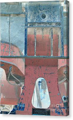Missing Middle Bar Center Rv Upsidedown Canvas Print by Heather Kirk