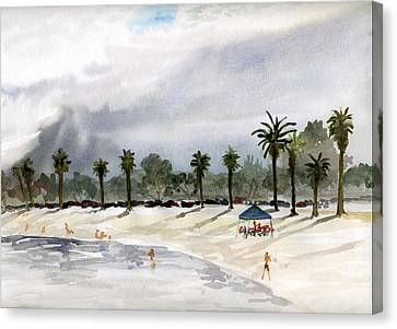 Mission Bay 2 Canvas Print